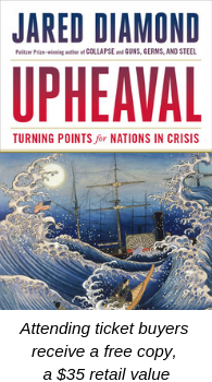 Book discussion: Upheaval by Jared Diamond @ Congregation Emanu El | Houston | Texas | United States